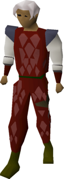 Red d'hide armour equipped.png
