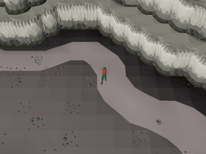 Hot cold clue - blast mine north.png