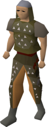 Studded leather armour equipped.png