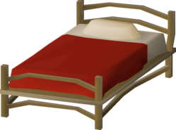 Teak bed (small, 3, Mahogany Homes) built.png