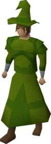 A player wearing Xerician robes