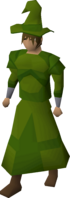 A player wearing Xerician robes.