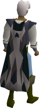 A player wearing a 3rd age cloak.