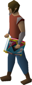A player wielding the Chronicle