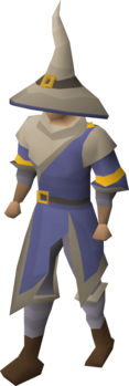 A player wearing the Ancestral robes.