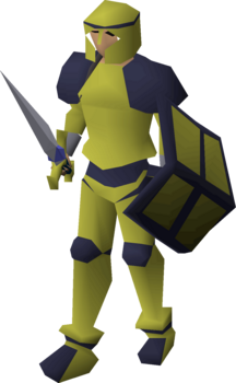 Decorative armour (gold platelegs) equipped.png