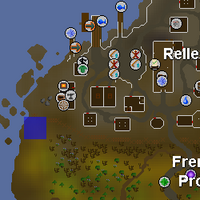 Hot cold clue - outside Rellekka fence map.png