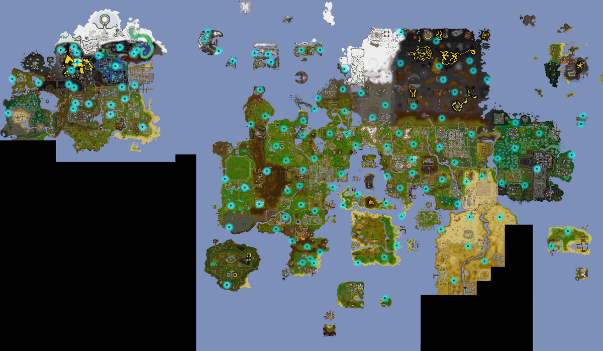 Treasure Trails/Guide/Hot Cold - OSRS Wiki