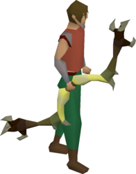 Dark bow (yellow) equipped.png