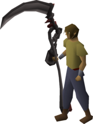 Scythe of vitur (uncharged) equipped.png