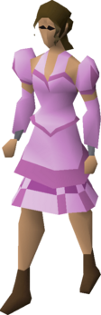Pink elegant clothing (female) equipped.png