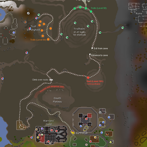 Troll Stronghold Location Osrs Wiki