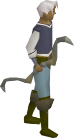 A player wielding the seercull.
