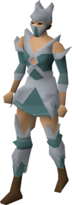 Crystal armour (female, inactive) equipped.png