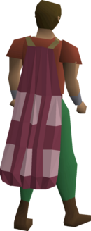 A player wearing a Team-4 cape.