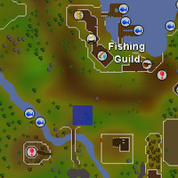 Hot cold clue - south of Fishing Guild map.png