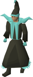 A player wearing dusk mystic robes.