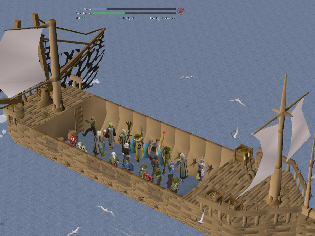 Fishing Trawler - OSRS Wiki