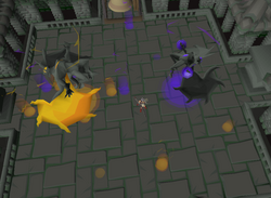 Grotesque Guardians Strategies Osrs Wiki The grotesque guardians, as well as the gargoyles, were created by the bandosian general snaarldor during the god wars. grotesque guardians strategies osrs wiki