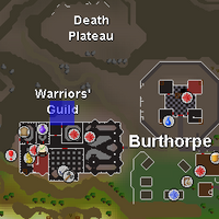Hot cold clue - north of Warriors Guild map.png