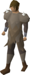 A player wearing Yak-hides.