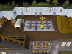 Emote clue - bow inside legends guild.png