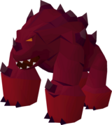TzTok-Jad is capable of hitting most players in one hit at up to 98 hitpoints.