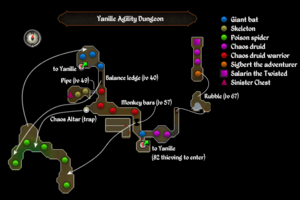 Yanille Agility dungeon map.png