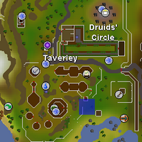 Hot cold clue - east of Taverley herb shop map.png