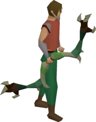 Dark bow (green) equipped.png
