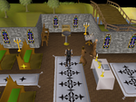 Emote clue - cheer entrana church.png