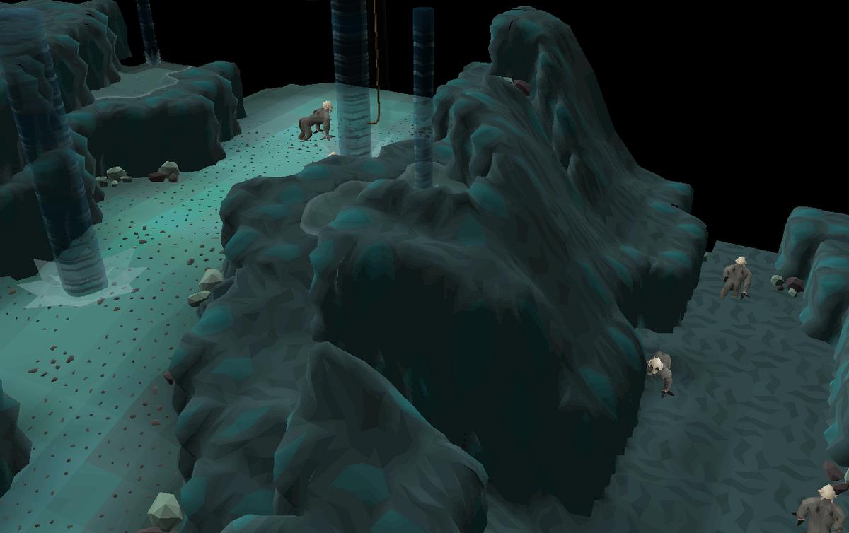 Crash Site Cavern - OSRS Wiki