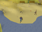 Emote clue - cry catherby beach.png