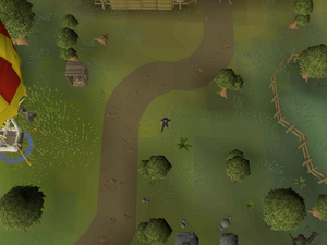 Hot cold clue - south of Lumber Yard.png