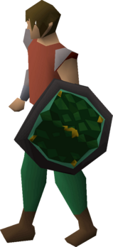 Guthix d'hide shield equipped.png