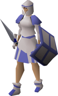 Decorative armour (white plateskirt) equipped.png