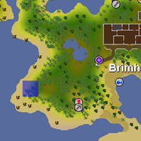 Hot cold clue - West of Brimhaven map.png