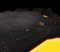 Lava maze steel platebody spawn.png