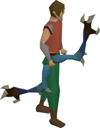 Dark bow (blue) equipped.png