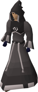 A player wearing a void mage helm