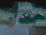 Emote clue - jump ancient cavern.png