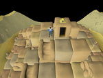 Emote clue - cheer agility pyramid top.png