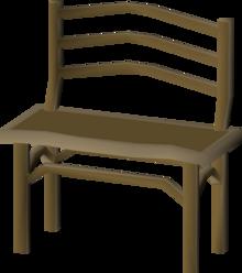 Teak Dining Bench Osrs Wiki