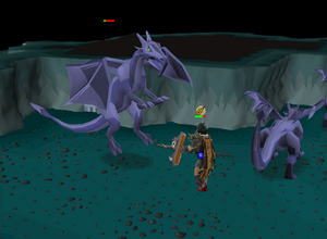 Fighting mithril dragons.png