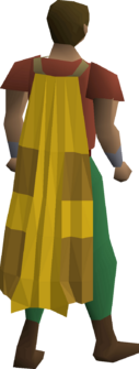 A player wearing a Team-13 cape.