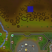 Hot cold clue - north of GE map.png