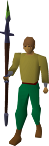 Mithril hasta(kp) equipped.png