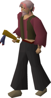 Broken axe (mithril) equipped.png