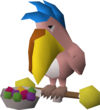 Easter egg-laying bird