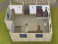 Cryptic clue - search drawers falador houses.png